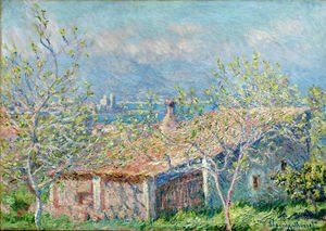 Claude Oscar Monet - Gardeners House At Antibes
