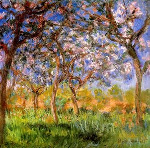 Claude Oscar Monet - Giverny In Springtime