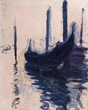 Claude Oscar Monet - Gondola In Venice