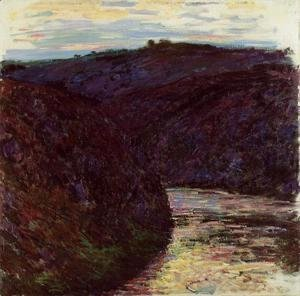 Claude Oscar Monet - Gorge Of The Creuse