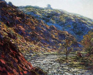 Claude Oscar Monet - Gorge Of The Petite Creuse