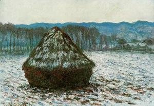 Claude Oscar Monet - Grainstack