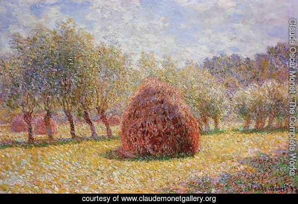 Haystacks At Giverny2