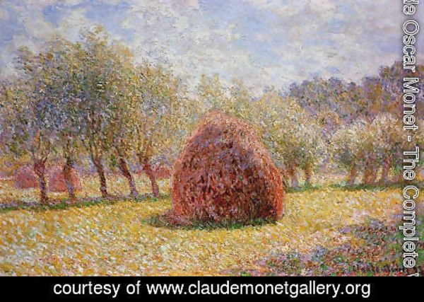 Claude Oscar Monet - Haystacks At Giverny2