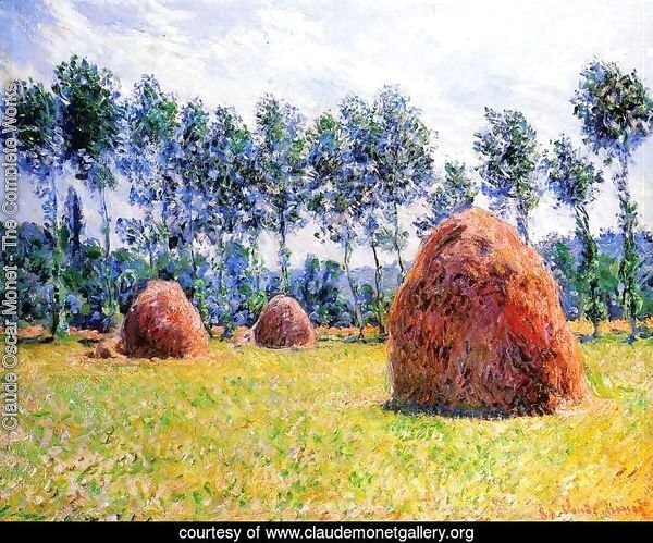 Haystacks At Giverny3