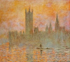 Claude Oscar Monet - Houses Of Parliament