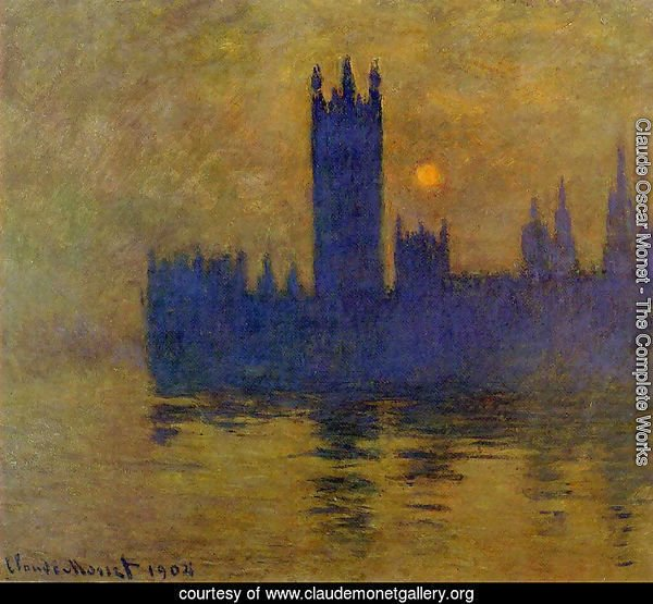 Houses Of Parliament  Sunset2