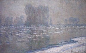 Ice Floes  Misty Morning