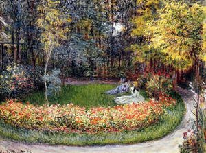 Claude Oscar Monet - In The Garden
