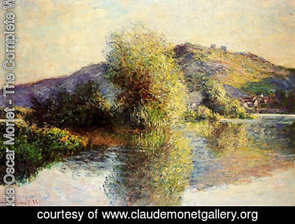 Claude Oscar Monet - Isleets At Port Villez