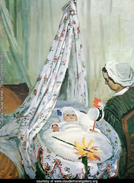 Jean Monet In His Cradle