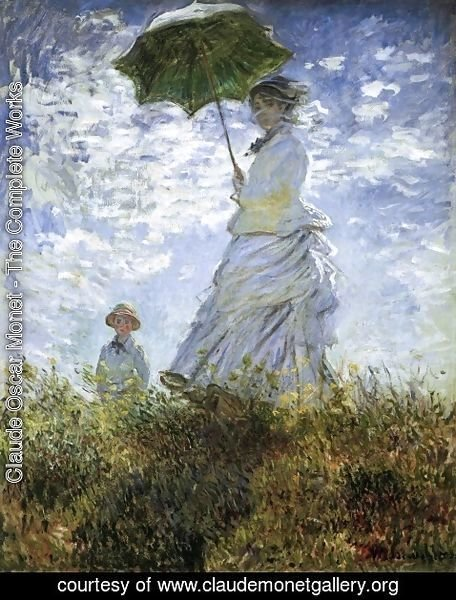 Claude Oscar Monet The Complete Works La Promenade