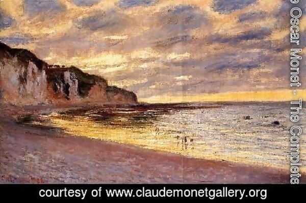 Claude Oscar Monet - LAlly Point  Low Tide