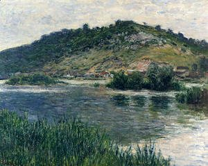 Claude Oscar Monet - Landscape At Port Villez