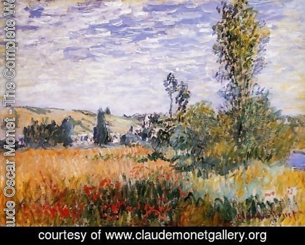 Claude Oscar Monet - Landscape At Vetheuil