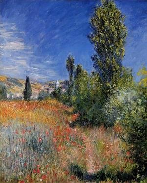Claude Oscar Monet - Landscape On The Ile Saint Martin