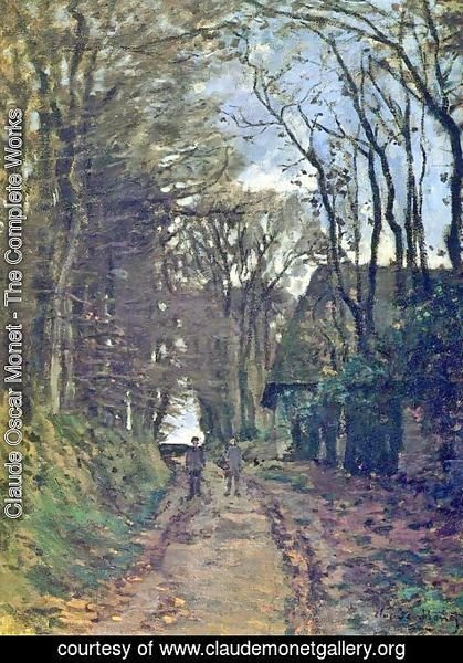 Claude Oscar Monet - Lane In Normandy