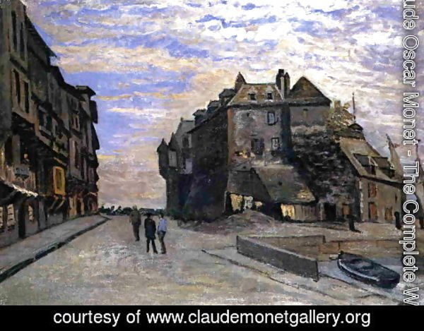 Claude Oscar Monet - Le Lieutanance At Honfleur