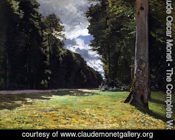 Claude Oscar Monet - Le Pave De Chailly In The Fontainbleau Forest