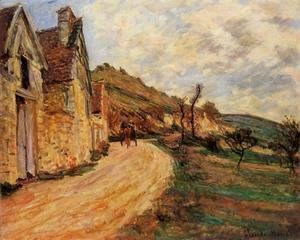 Les Roches At Falaise Near Giverny