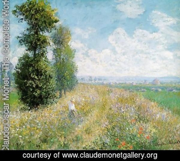 Claude Oscar Monet - Lilacs  Grey Weather