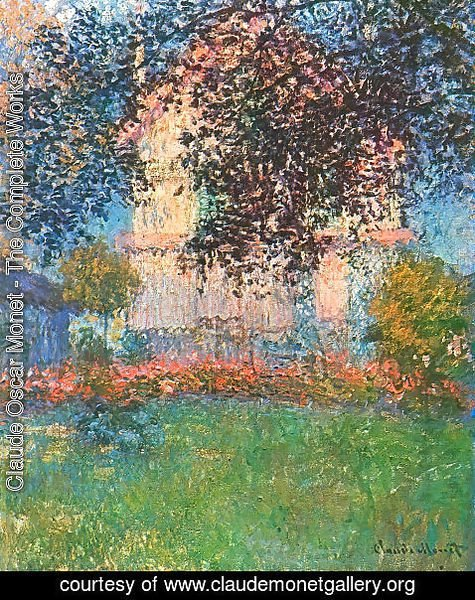 Claude Oscar Monet - Monets House In Argenteuil