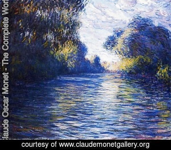 Claude Oscar Monet - Morning On The Seine 2