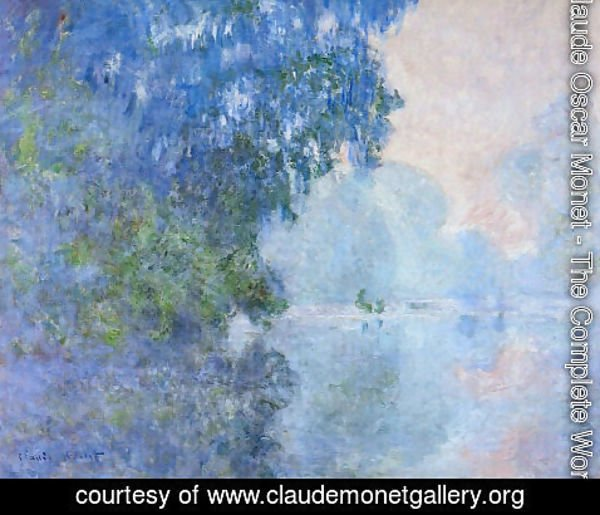 Claude Oscar Monet - Morning On The Seine2