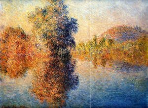 Claude Oscar Monet - Morning On The Seine5