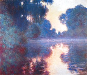 Claude Oscar Monet - Morning On The Seine  Clear Weather2