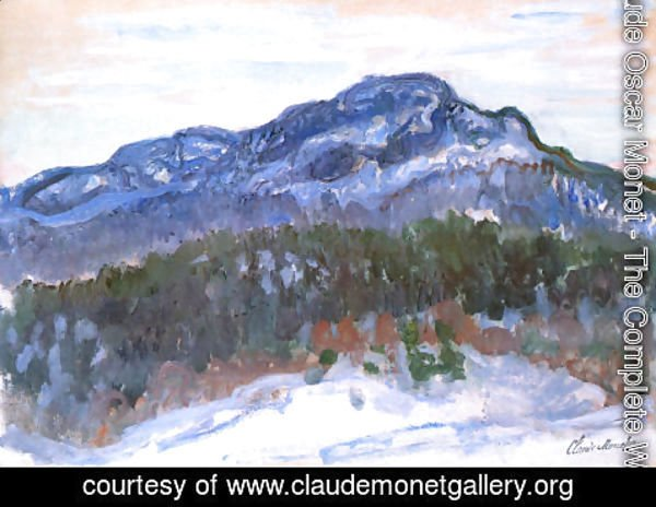 Claude Oscar Monet - Mount Kolsaas3