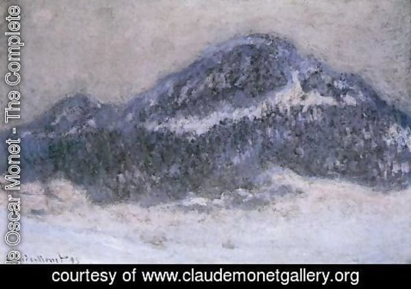Claude Oscar Monet - Mount Kolsaas In Misty Weather