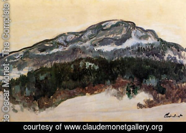 Claude Oscar Monet - Mount Kolsaas  Norway