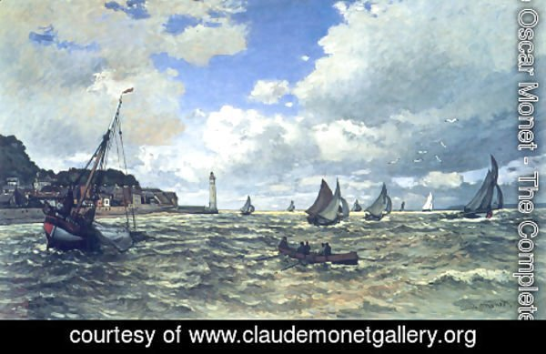 Claude Oscar Monet - Mouth Of The Seine At Honfleur