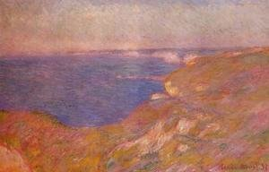 Claude Oscar Monet - On The Cliff Near Dieppe