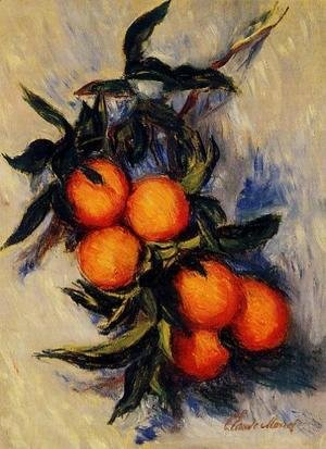 Claude Oscar Monet - Orange Branch Bearing Fruit