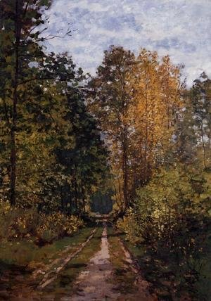 Claude Oscar Monet - Path In The Forest