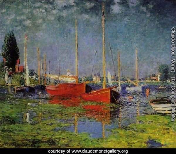 Pleasure Boats At Argenteuil