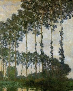 Poplars Near Giverny