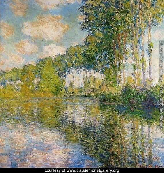 Poplars On The Banks Of The River Epte