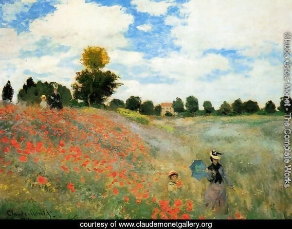 Poppies At Argenteuil