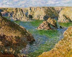 Claude Oscar Monet - Port Donnant  Belle Ile
