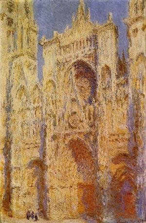 Claude Oscar Monet - Portal In The Sun2
