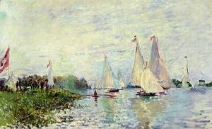 Claude Oscar Monet - Regatta At Argenteuil3
