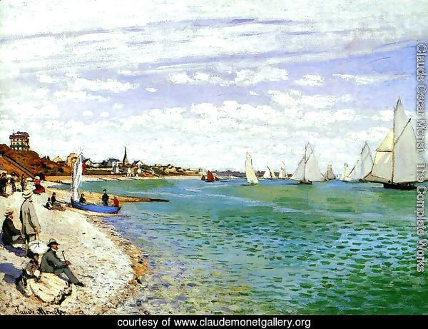 Regatta At Sainte Adresse
