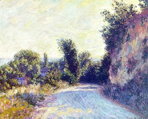 Claude Oscar Monet - Road Near Giverny
