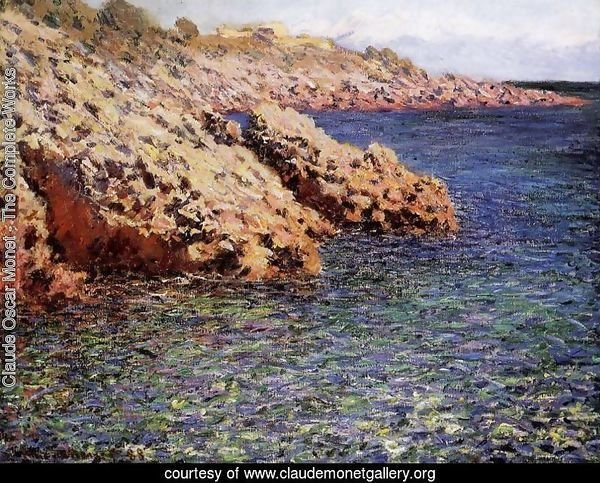 Rocks On The Mediterranean Coast Aka Cam D Antibes