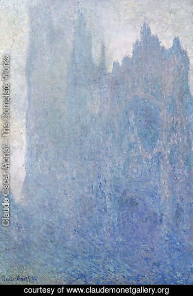 Claude Oscar Monet - Rouen Cathedral In The Fog