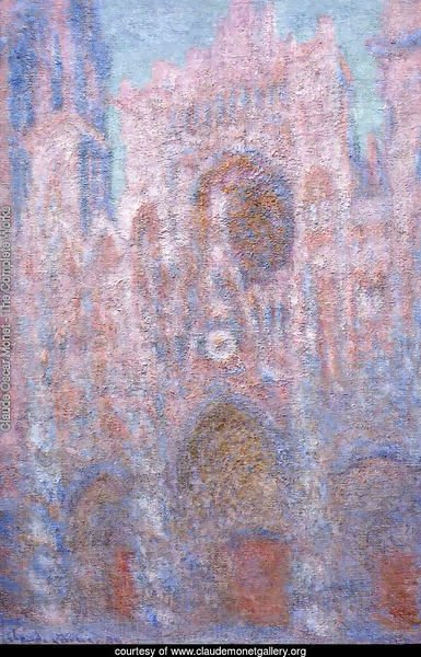 Rouen Cathedral  Symphony In Grey And Rose
