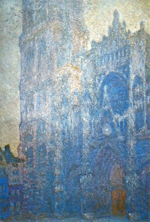 Claude Oscar Monet - Rouen Cathedral  The Portal  Morning Effect